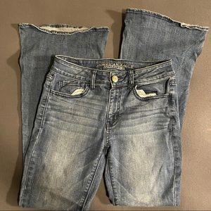 American Eagle Hi Rise Artist Jeans Size 4 Short